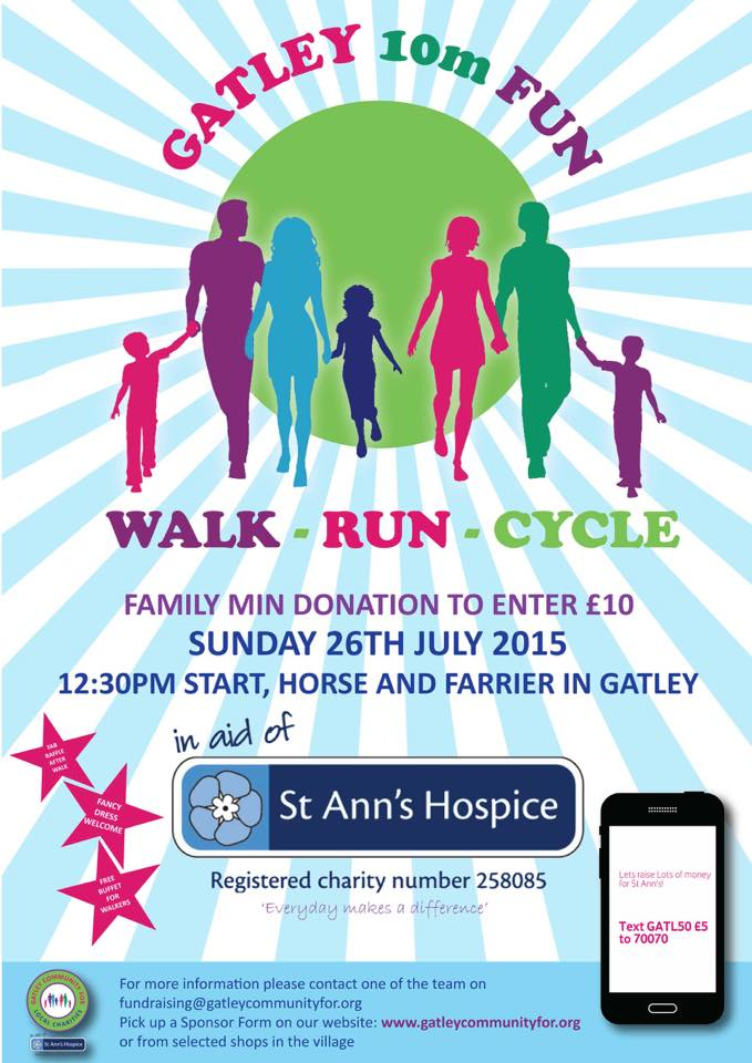 St. Ann's Hospice Fun Walk