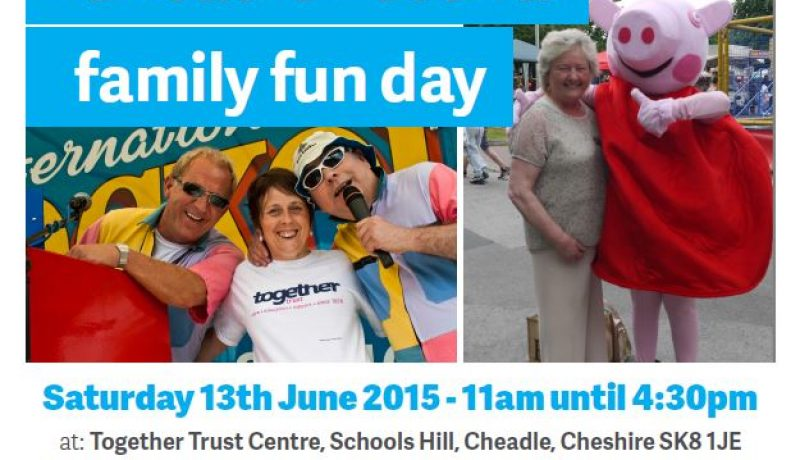 Together Trust Cheadle Festival Family Fun Day