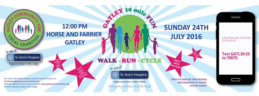 Gatley Fun Walk for St Ann's Hospice