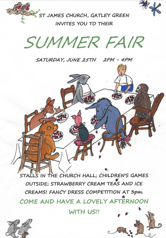 St James' Church Summer Fair
